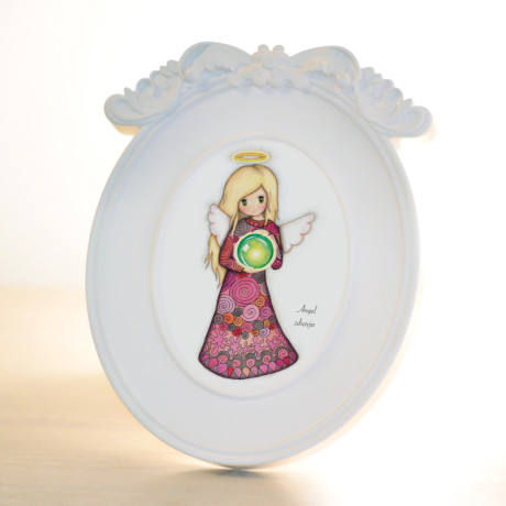 Oval - Angel zdravja (Symbol)