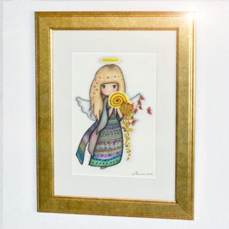 Zlat - Angel izobilja (Symbol)