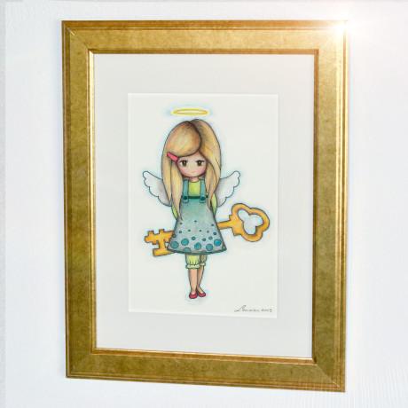 Zlat - Angel odprtih vrat